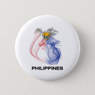 PHILIPPINE FLAG smoke 6 Cm Round Badge