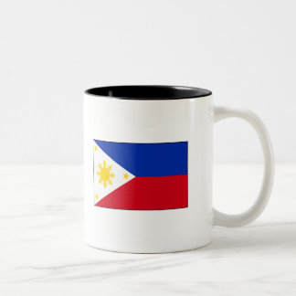 Philippine Flag T-shirts and Gifts Two-Tone Mug