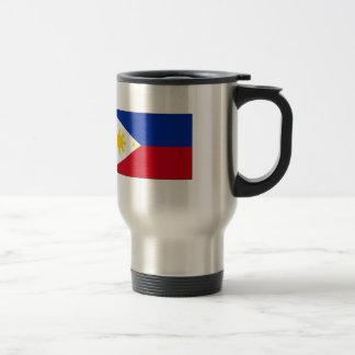 Philippine Flag T-shirts and Gifts Stainless Steel Travel Mug