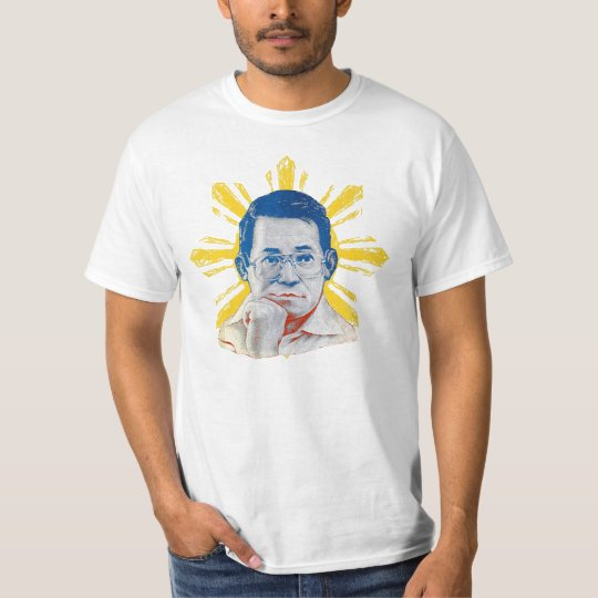 Philippine Flag themed Ninoy Shirt