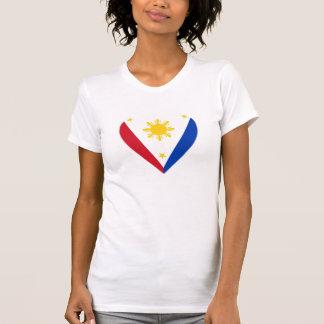 Philippine Heart Flag T-Shirt
