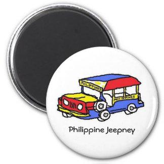 Philippine Jeepney Magnet