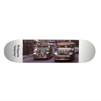 "Philippine ""Jeepney"" Skateboard Deck"