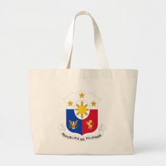 Philippine Seal Jumbo Tote Bag