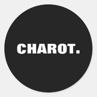 Philippine Slang Charot. Classic Round Sticker