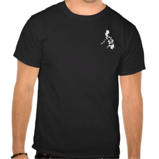 Philippine small map t-shirts