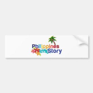 Philippine Sticker Story Bumper Sticker