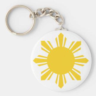 Philippine Sun, Pinoy Sun, Filipino Sun Key Ring
