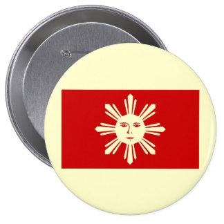 Philippines   1st official, Philippines 10 Cm Round Badge