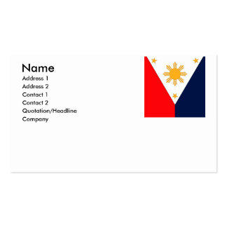 Philippines(2) Business Card