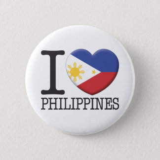 Philippines 6 Cm Round Badge