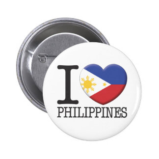 Philippines 6 Cm Round Badge