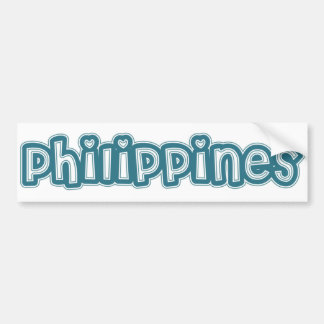 Philippines Bumper Sticker