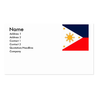 Philippines Business Card Templates