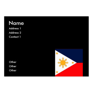 Philippines Business Card Template