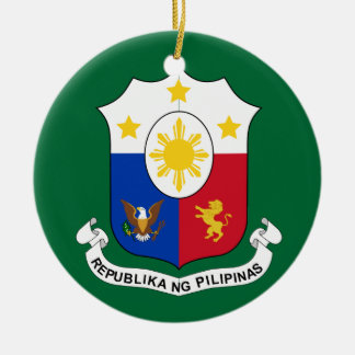 Philippines COA Christmas Ornament