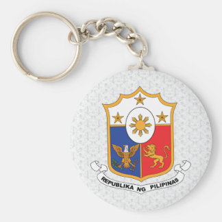 Philippines Coat of Arms detail Key Ring