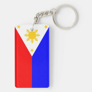 Philippines country flag nation symbol key ring