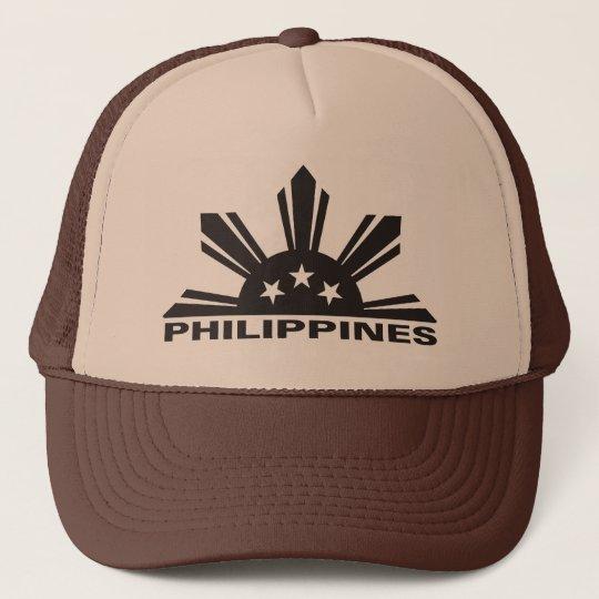 6c3d76021bb Philippines Custom Logo Trucker Hat
