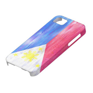Philippines distressed Philippino flag Case For The iPhone 5