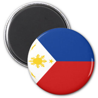 Philippines Fisheye Flag Magnet