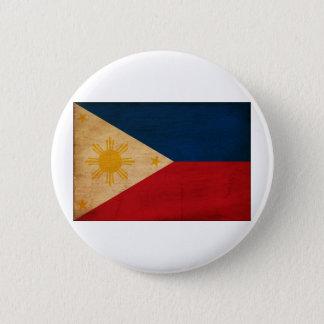 Philippines Flag 6 Cm Round Badge