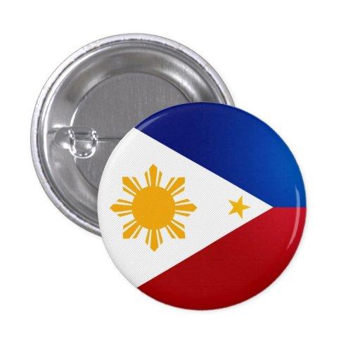 Philippines Flag Button