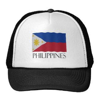Philippines flag mesh hats