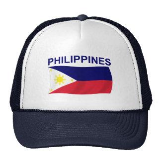 Philippines Flag Trucker Hat
