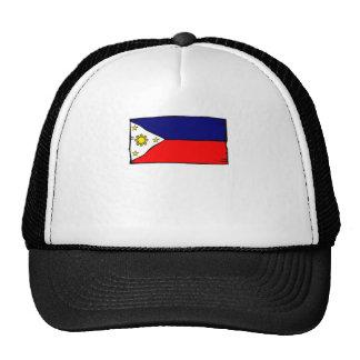 Philippines Flag Trucker Hats