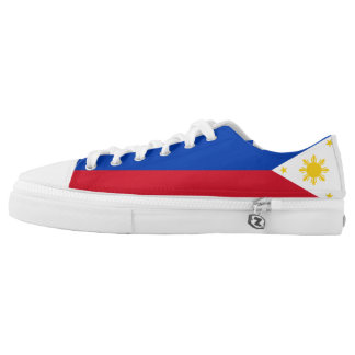 Philippines Flag Low Tops