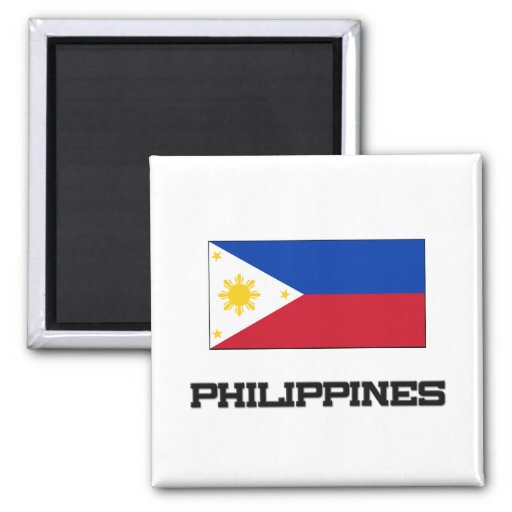 Philippines Flag Refrigerator Magnets