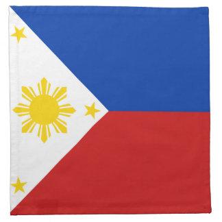 Philippines Flag Napkin