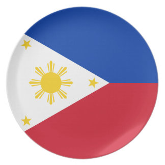 Philippines Flag Plate