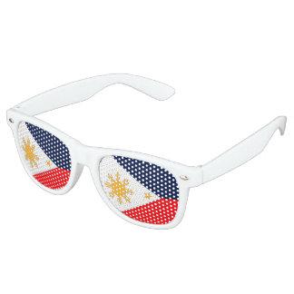 Philippines Flag Retro Sunglasses