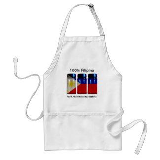 Philippines Flag Spice Jars Apron