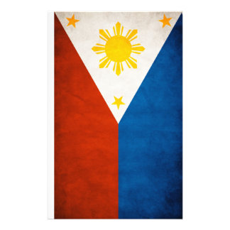 Philippines Flag Stationery