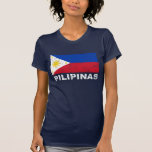 Philippines Flag Vintage T Shirt