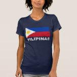Philippines Flag Vintage Tee Shirts