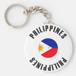 Philippines Flag Wheel Key Ring