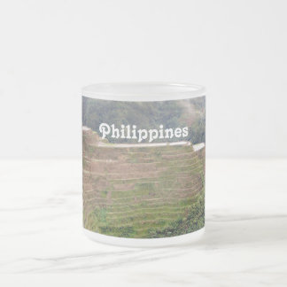 Philippines Frosted Glass Mug