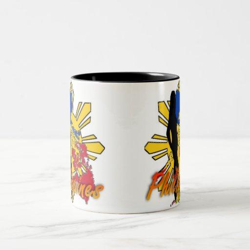 Philippines Girl Design Coffee Mug