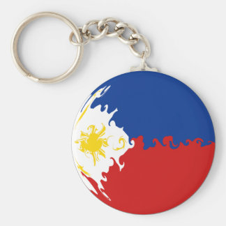 Philippines Gnarly Flag Key Ring