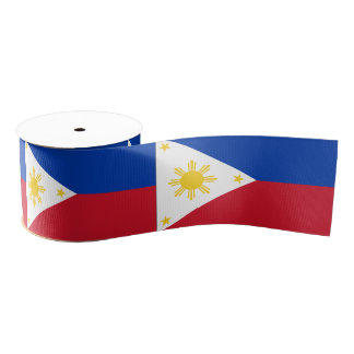 Philippines Grosgrain Ribbon