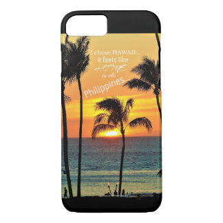 Philippines in Hawaii iPhone 8/7 Case