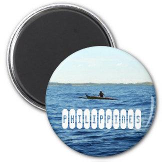 Philippines Island 6 Cm Round Magnet