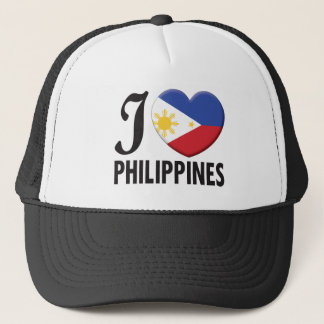 Philippines Love Trucker Hat