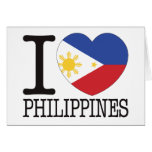 Philippines Love v2 Greeting Card