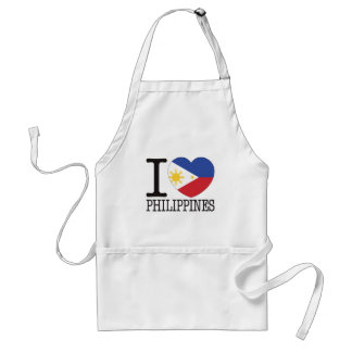Philippines Love v2 Standard Apron
