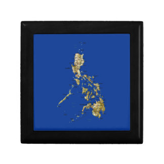 Philippines Map Gift Box